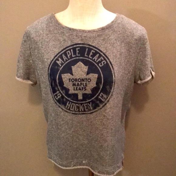 Licensed Toronto Maple Leafs sweatshirt.